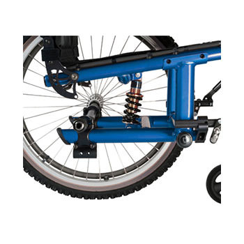 5R rigid wheelchair suspension frame