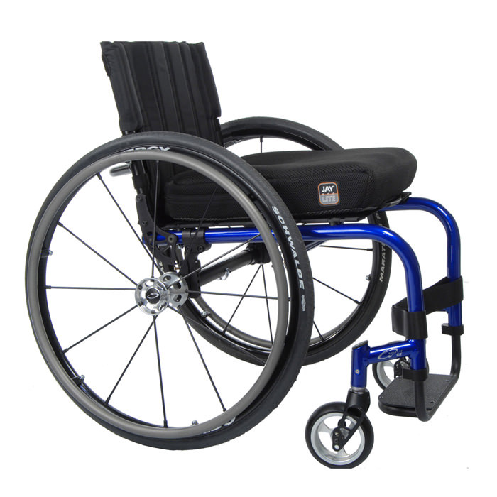 Quickie GT ultralight manual wheelchair