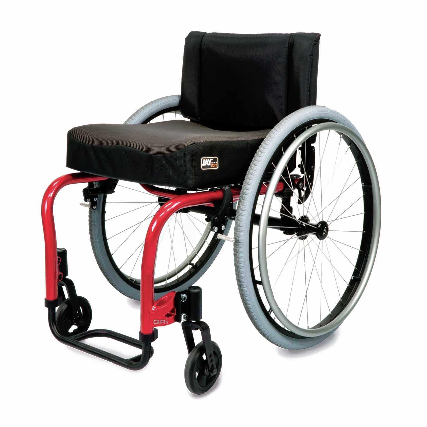 Quickie QRi ultralight rigid manual wheelchair