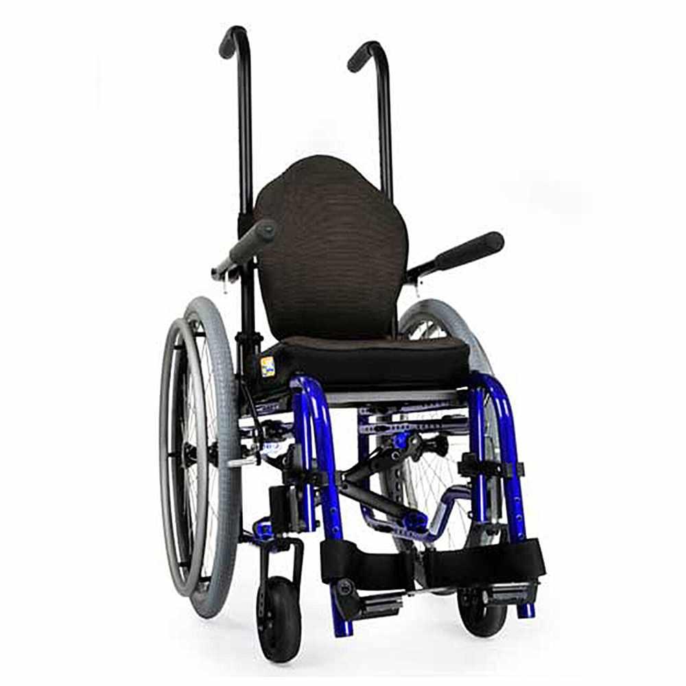 Zippie GS folding lightweight manual wheelchair