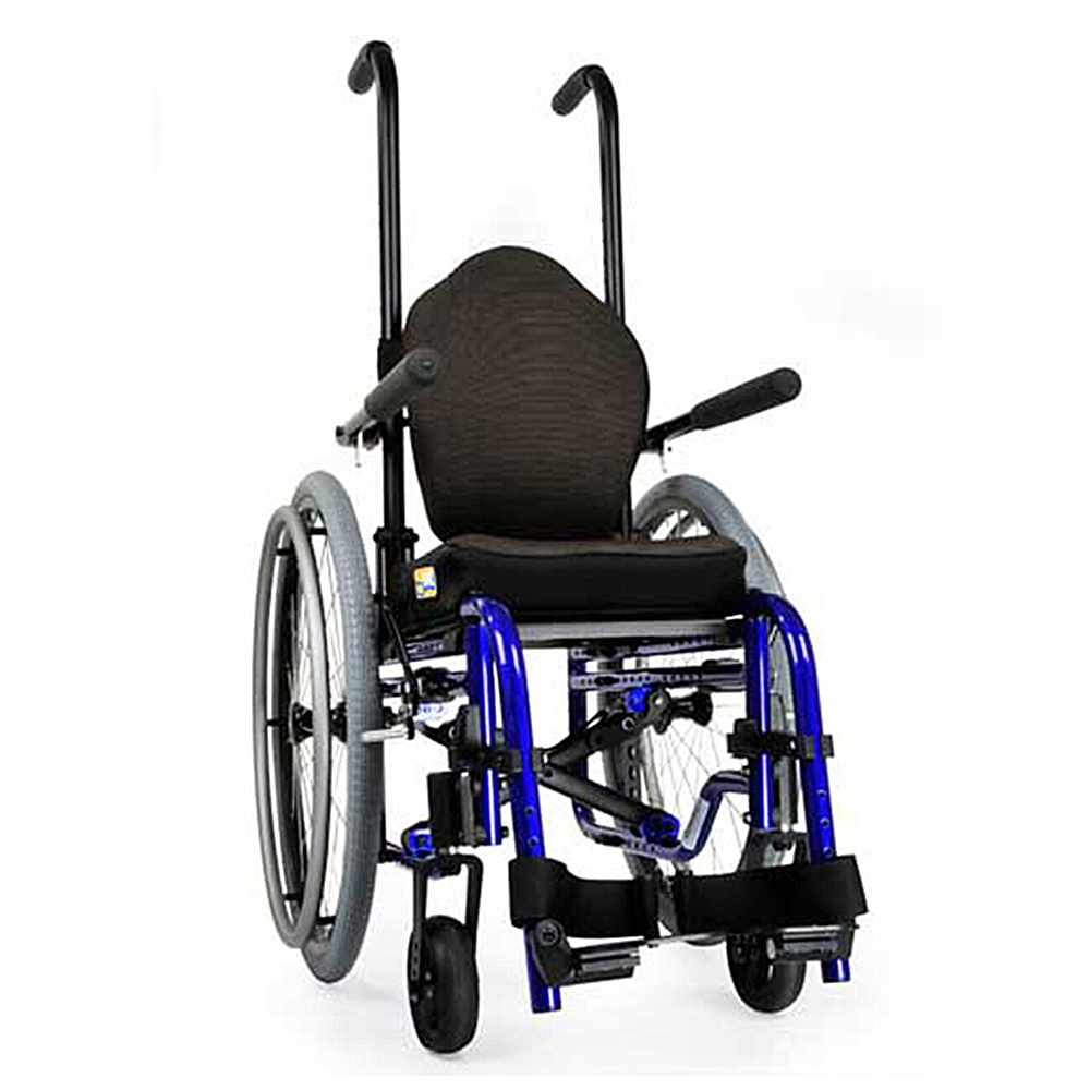Zippie GS folding lightweight manual wheelchair