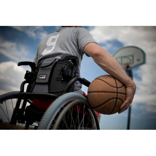Jay J3 posterior back on wheelchair