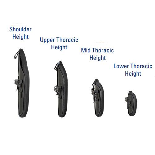 J3 heavy duty posterior back height