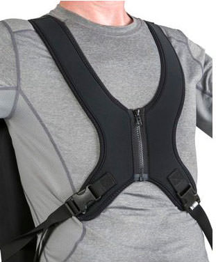 Jay center opening style anterior trunk support with zipper