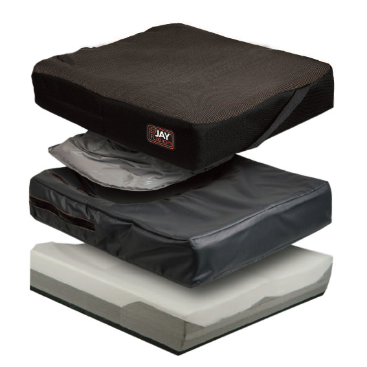 Jay Fusion Core adjustable cushion, base, pad, cover