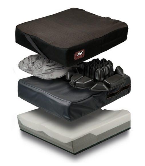 Jay Fusion adjustable cushion, multiple layers