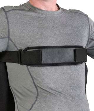 Jay padded anterior trunk support strap