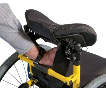 Jay Zip pediatric backrest adjustment