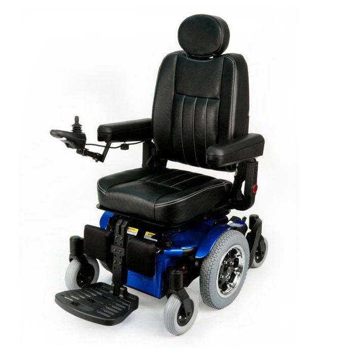 Quickie pulse 5 mid wheel drive power wheelchair