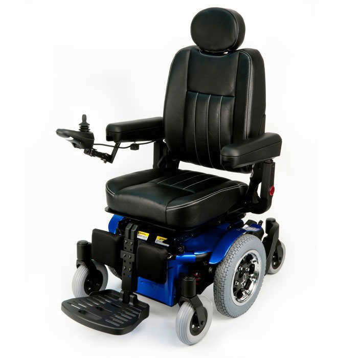 Quickie Pulse 6 Power Wheelchair | Pulse 6 With Captain Seat