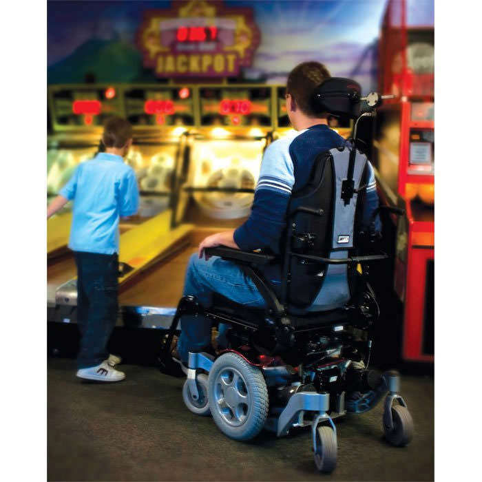Quickie Pulse 6 Power Wheelchair Pulse 6 With Captain Seat