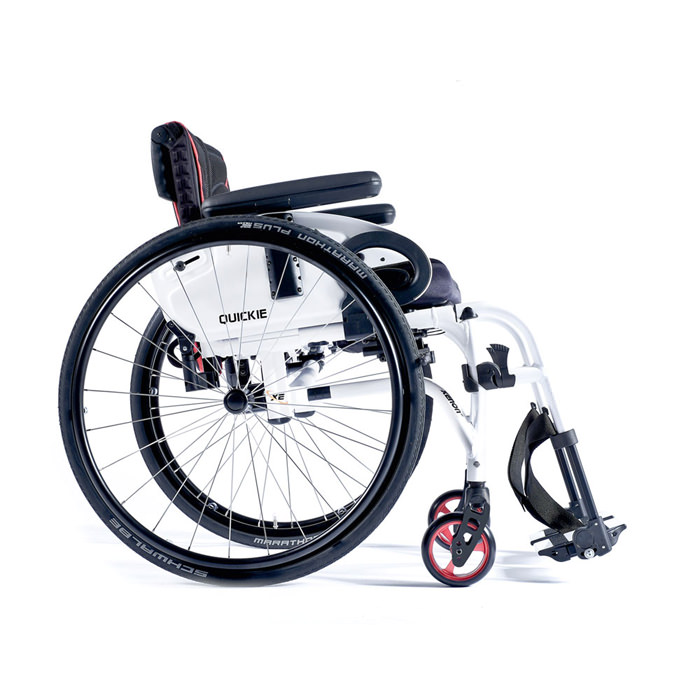 Quickie Xenon2 swing away wheelchair