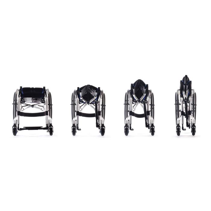 Xenon2 swing away wheelchair fold-unfold