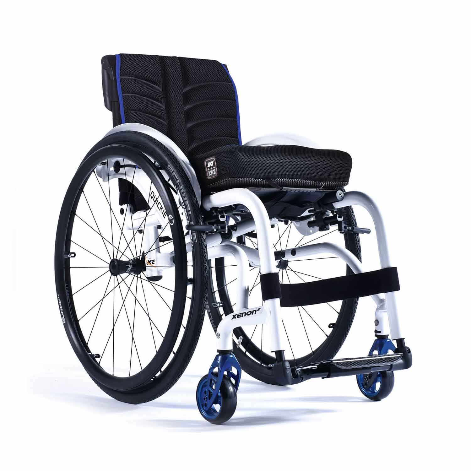 Quickie Xenon Lightweight Folding Wheelchair | Fixed Front