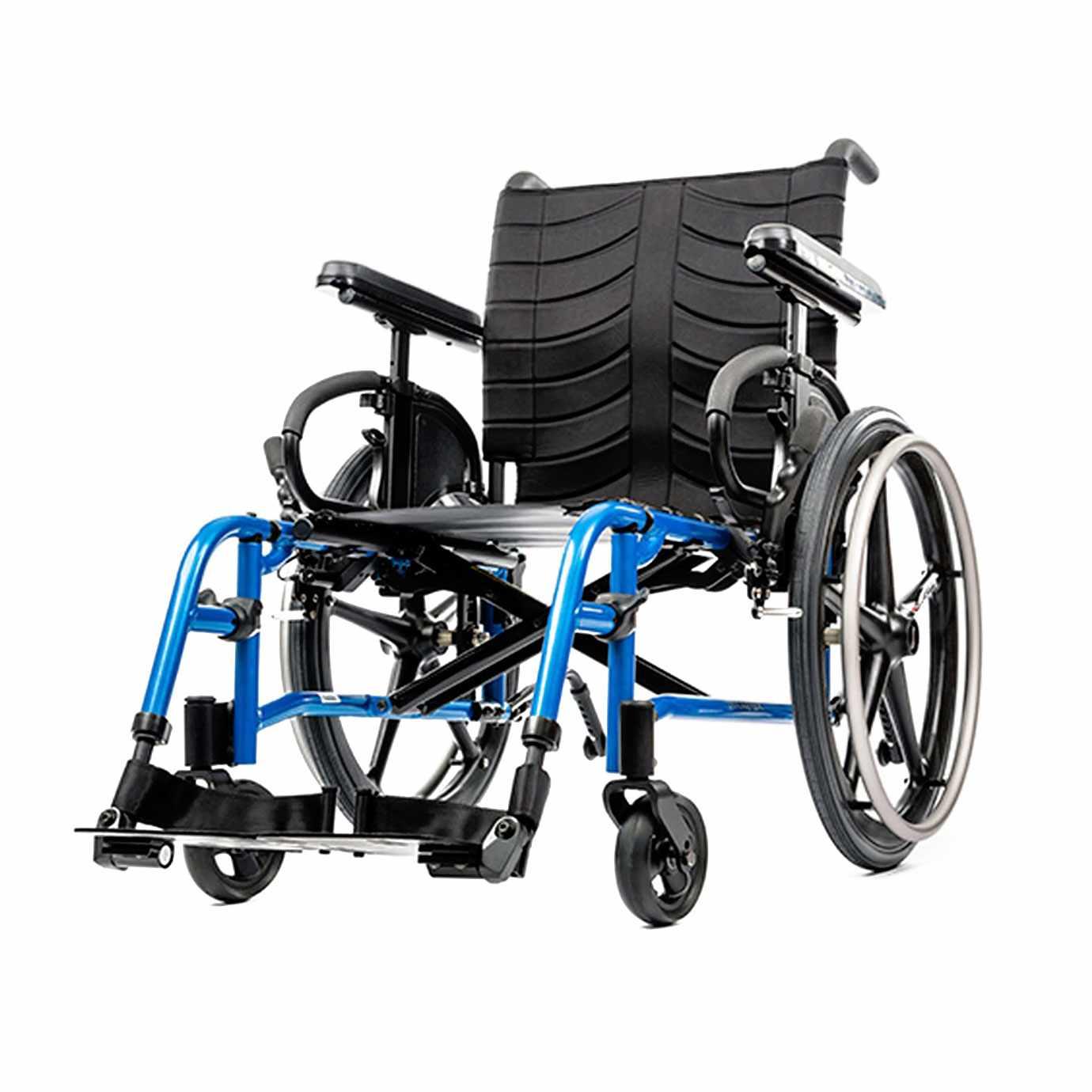 QXi ultra lightweight folding manual wheelchair