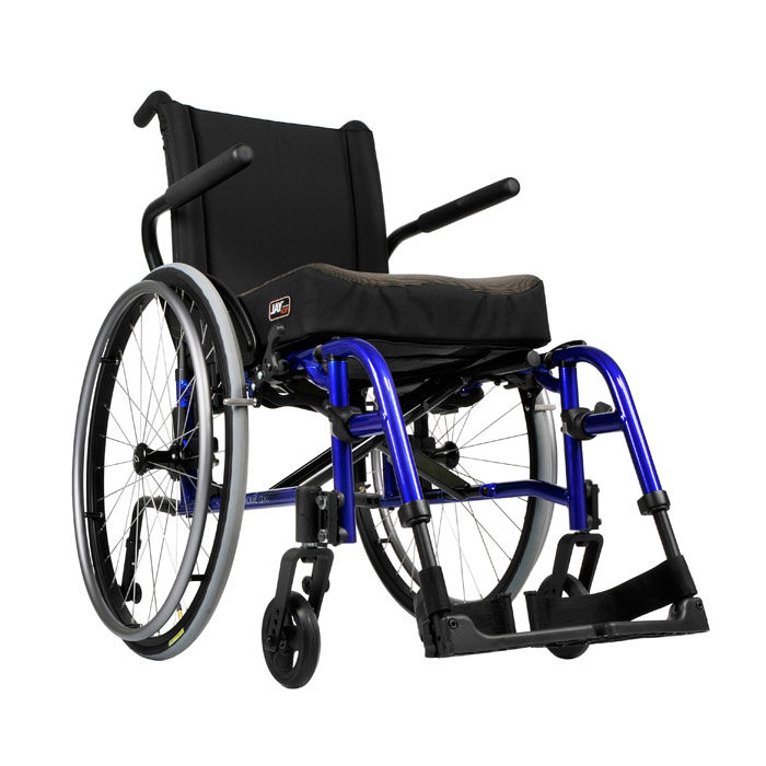 Quickie QX lightweight folding manual wheelchair