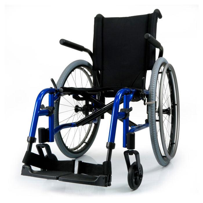 Quickie QX folding wheelchair