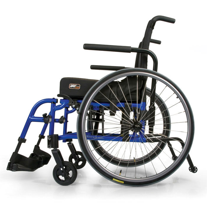 Quickie QX manual wheelchair side view
