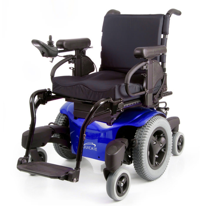 Quickie QM-715 heavy duty power wheelchair