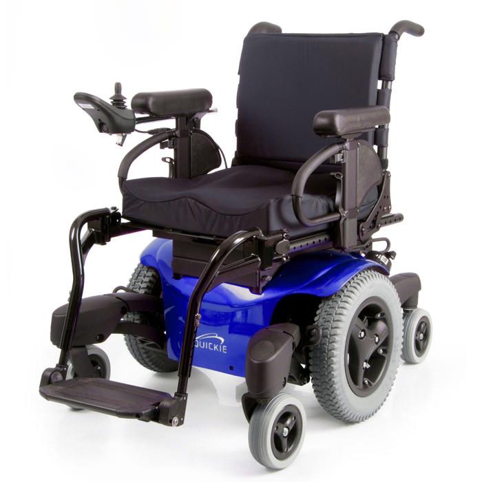Quickie QM-715 heavy duty power wheelchair