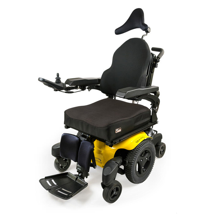 Quickie QM-715 heavy duty wheelchair