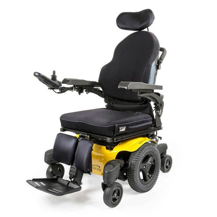 Quickie QM-720 power wheelchair