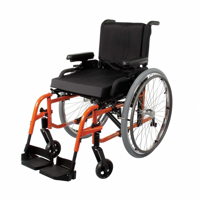 Quickie LXI folding ultralight wheelchair
