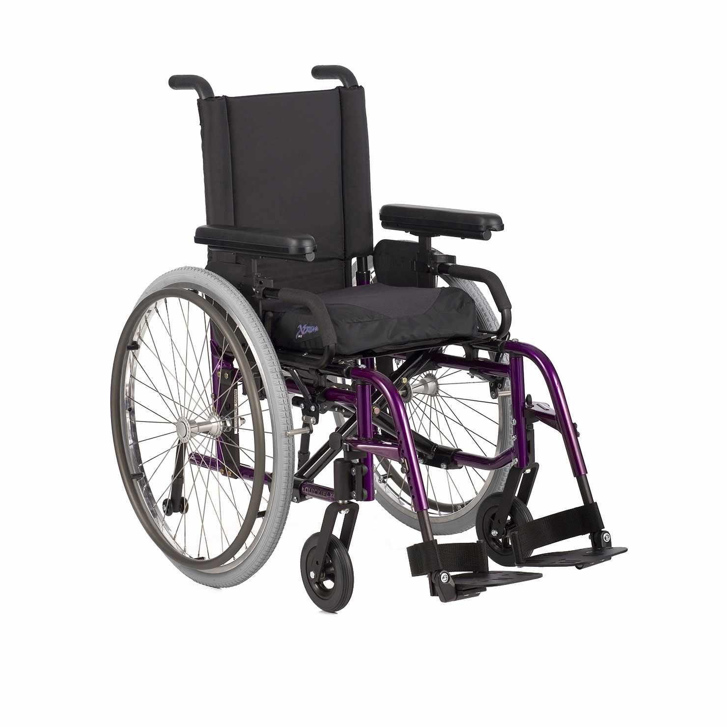 Quickie LX folding ultralight wheelchair
