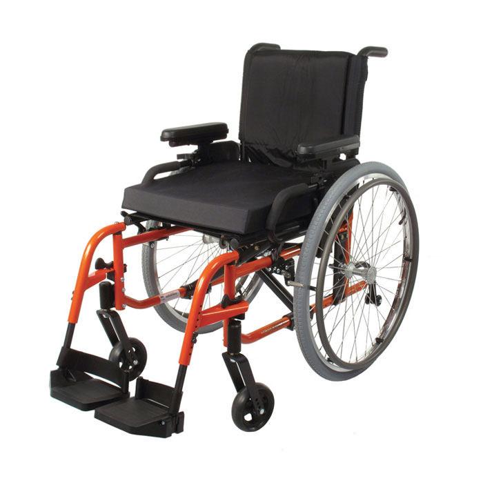 LX folding ultralight wheelchair