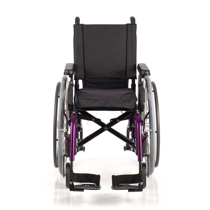 LX folding wheelchair