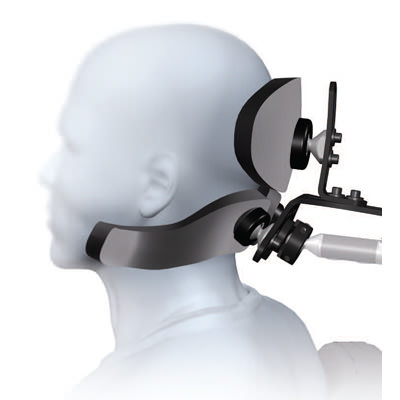 S.O.F.T. adult dual sub-occipital cobra headrest system
