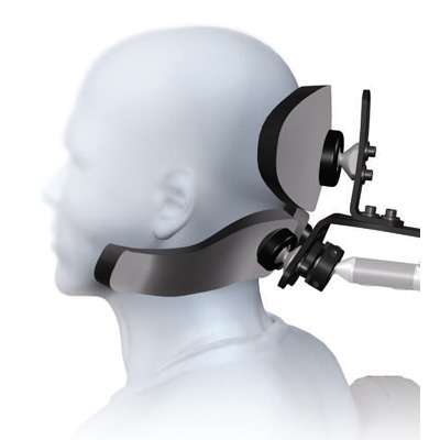 S.O.F.T. pediatric dual sub-occipital linx headrest system