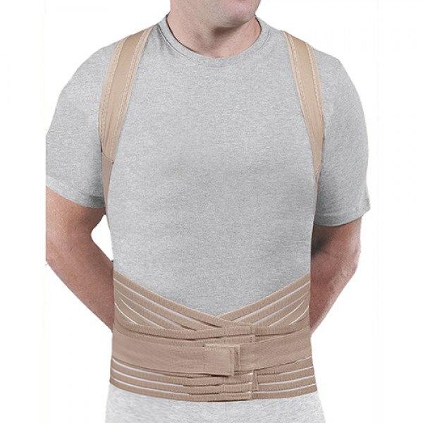 Soft Form Posture Control Brace Beige