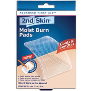 "Spenco 2nd Skin Moist Burn Pad, Large 3"" x 4"""