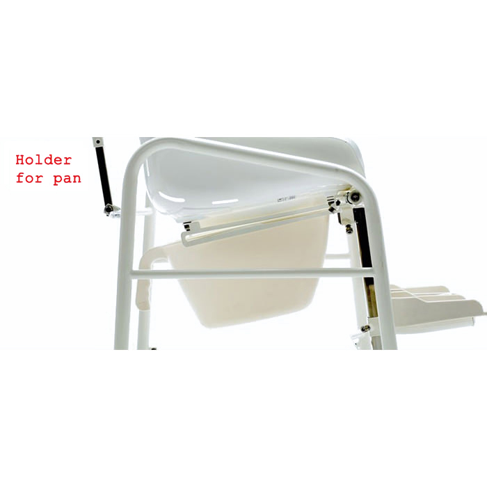 R82 Swan commode chair
