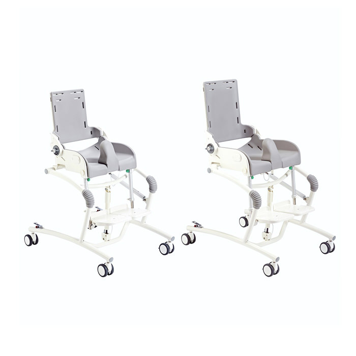R82 Flamingo hi-lo shower commode chair
