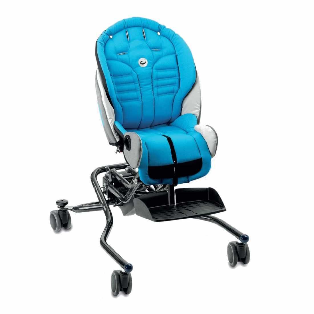 R82 Stingray tilt seating system with high-low indoor frame base