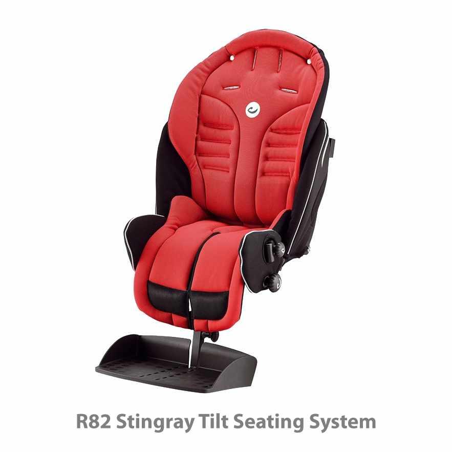 R82 Stingray tilt seating system