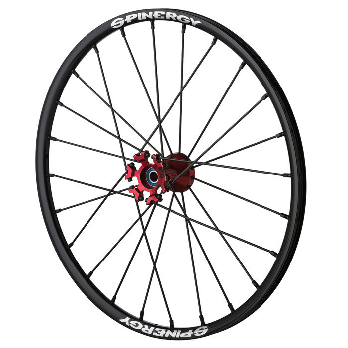 "Spinergy sport light extreme ""SLX"", X-laced R10 wheels"