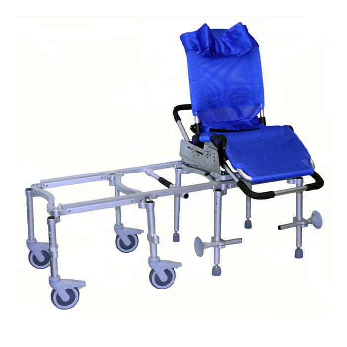 R82 tub slider system with Manatee bath chair