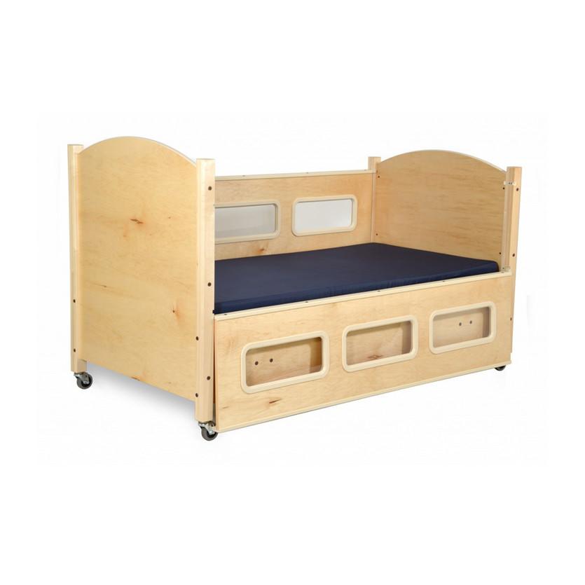 SleepSafe BASIC manual articulating safety bed