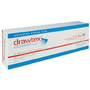 """Steadmed drawtex hydroconductive wound dressing 4"""" x 39"""""""