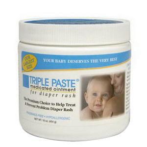 Summers Laboratories Triple Paste Medicated Ointment 2 oz. Jar