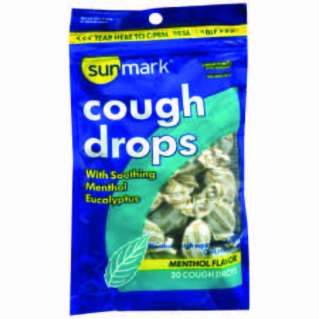 Sunmark Menthol Flavor Cold and Cough Relief 5.4 mg Strength