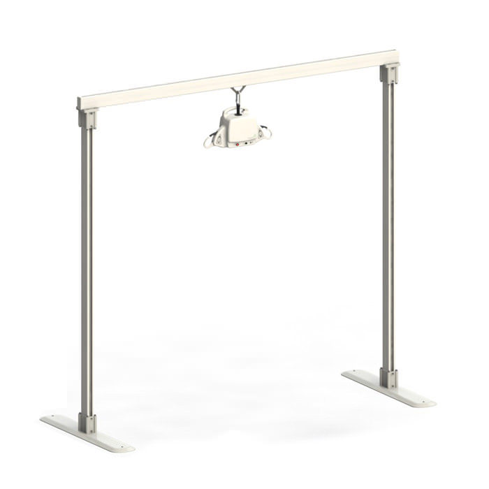 Savaria Portable ceiling lift with freestanding complete kit