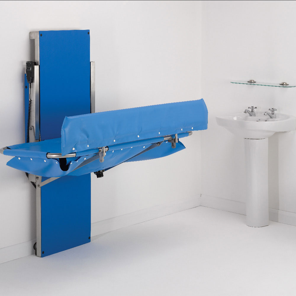 Smirthwaite Hi-Riser Showering and Changing Table