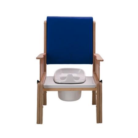 Smirthwaite Combi toileting chair with adjustable arm