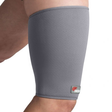 Swede-O Thermal Vent Thigh Hamstring Sleeve, Gray