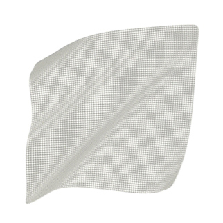 Systagenix Knitted Cellulose Acetate Impregnated Dressing, White