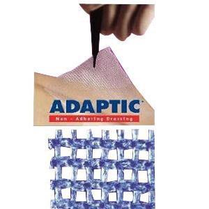 "Systagenix Adaptic Non Adhesive Dressing, Sterile 3"" x 16"""